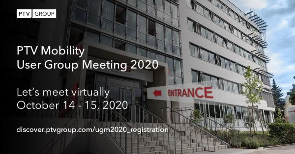 PTV Mobility User Group Meeting 2020
